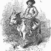 Arkansas Traveler, 1878 Print by Granger