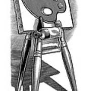 Artist's Easel, Artwork Print by Bill Sanderson