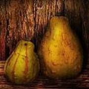 Autumn - Gourd - A Pair Of Squash  Print by Mike Savad