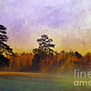Autumn Morning Mist Print by Judi Bagwell