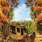 Autumn's Essence Print by Lourry Legarde