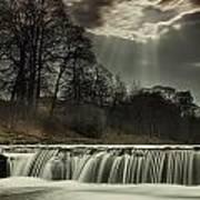 Aysgarth Falls Yorkshire England Print by John Short