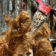 Bad Hair Day Print by JC Findley