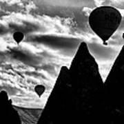 Ballons - 2 Print by Okan YILMAZ