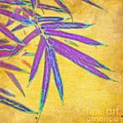 Bamboo Batik II Print by Judi Bagwell