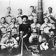 Baseball Team, C1898 Print by Granger