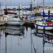 Beauty Of Boats Print by Bob Christopher