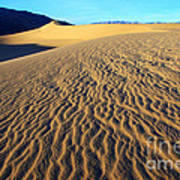Beauty Of Death Valley Print by Bob Christopher