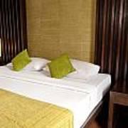Bed Room Print by Atiketta Sangasaeng