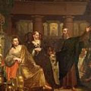 Belshazzar's Feast Print by Washington Allston