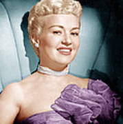 Betty Grable, Ca. 1950s Print by Everett