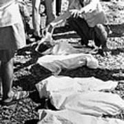 Bhopal Disaster Victims, India, 1984 Print by Ria Novosti