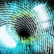 Biometric Identification Print by Pasieka