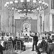 Black Convention, 1876 Print by Granger