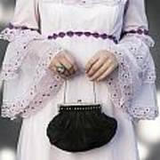 Black Handbag Print by Joana Kruse