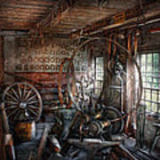 Blacksmith - That's A Lot Of Hoopla Print by Mike Savad