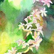 Blessings 1 Print by Anil Nene
