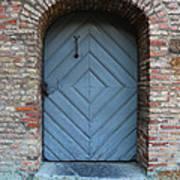 Blue Door Print by Carol Groenen