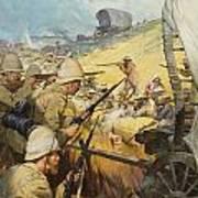 Boer War Skirmish Print by James Edwin McConnell