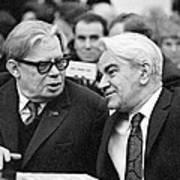 Bogolyubov And Keldysh, Soviet Scientists Print by Ria Novosti