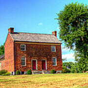 Bowen Plantation House 002 Print by Barry Jones