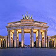 Brandenburger Tor Berlin Print by Greta Schmidt