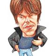 Brian Cox, Caricature Print by Gary Brown