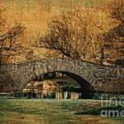 Bridge From The Past Print by Nishanth Gopinathan