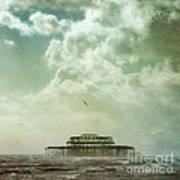 Brighton Seascape Print by Paul Grand