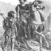Bronze Age Warrior Print by Photo Researchers