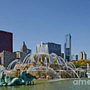 Buckingham Fountain Chicago Print by Christine Till
