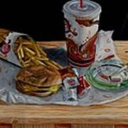 Burger King Value Meal No. 1 Print by Thomas Weeks