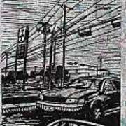 Burnet Road Print by William Cauthern