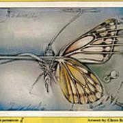 Butterflycomp 1991 B Print by Glenn Bautista