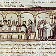 Byzantine Philosophy School Print by Granger