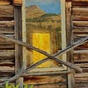 Cabin Windows Print by Jeff Kolker