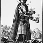 Cafe Owner, C1690 Print by Granger