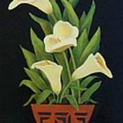 Calla Lilies Print by Jane Landry  Read