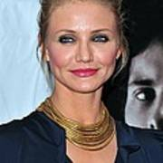 Cameron Diaz At Arrivals For The Box Print by Everett