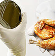 Campylobacter Food Poisoning Print by Tim Vernon, Lth Nhs Trust
