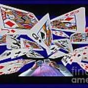 Card Tricks Print by Bob Christopher