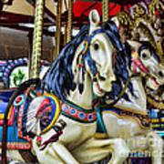 Carousel Horse 2 Print by Paul Ward