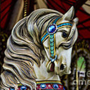 Carousel Horse 3 Print by Paul Ward