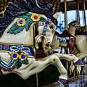 Carousel Horse 5 Print by Paul Ward