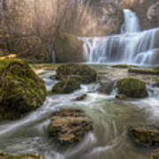 Cascade Of Billaud Print by Philippe Saire - Photography