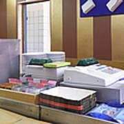 Cashier Desk Print by Magomed Magomedagaev