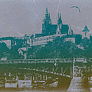 Castillo De Praga Print by Naxart Studio