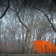 Central Park Print by Naxart Studio