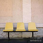 Chairs Print by Bernard Jaubert