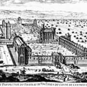 Chateau De Vincennes Print by Granger